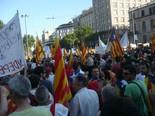 Manifestació 10-J: les fotos dels ciutadans Marea humana. Foto: Martí Urgell