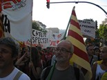 Manifestació 10-J: les fotos dels ciutadans Marea humana. Foto: Mercè Genero