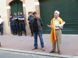 Manifestació 10-J: les fotos dels ciutadans Concentració a Tolosa de Llenguadoc. Foto: Cadres Catalans