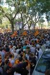 Manifestació 10-J: les fotos dels ciutadans MarMarea humana als Jardinets de Gràcia. Foto: Sergi Pich