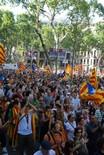 Manifestació 10-J: les fotos dels ciutadans Marea humana als Jardinets de Gràcia. Foto: Sergi Pich