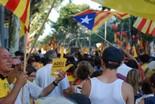 Manifestació 10-J: les fotos dels ciutadans Adéu Espanya. Foto: Sergi Pich