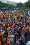 Manifestació 10-J: les fotos dels ciutadans Marea humana al passeig de Gràcia. Foto: Sergi Pich