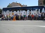 Manifestació 10-J: les fotos dels ciutadans Bus d'Òmnium Tona. Foto: Meritxell Matas