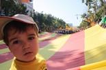 Manifestació 10-J: les fotos dels ciutadans En Nil Torrents Inglés. Foto: Eva Inglés