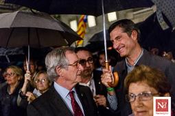 Imputats 9-N: concentració de suport a la plaça Sant Jaume