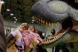 Les millors fotos de la setmana de Nació Digital  Terrassa acull l'exposició Dinousaures XXL.  Foto: Cristóbal Castro