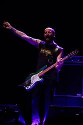 Premis Enderrock 2015 El baixista de Senior i el Cor Brutal J. L. Tormo