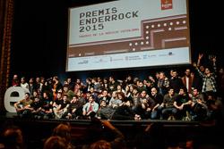 Premis Enderrock 2015 Tots els guardonats de la nit dels Premis Enderrock 2015