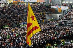 Les millors fotos de la setmana de Nació Digital   Assemblea General Ordinària de l'ANC a Lleida.</br>Foto: Adrià Costa