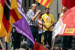 Manifestació de l'1 de maig a Barcelona