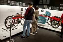 Exposició «Catalunya Moto» al Palau Robert