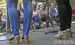 Les millors fotos de la setmana de Nació Digital Marta Rovira participa a la campanya d'ERC Manlleu.  Foto: Albert Alemany