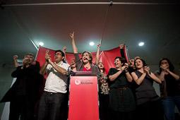 Municipals 2015: la nit electoral de Barcelona en Comú