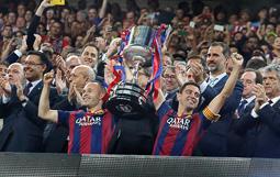 Les millors fotos de la setmana de Nació Digital   El Barça derrota l'Athletic Club (1-3) i aconsegueix la seva 27a Copa del Rei.</br>Foto: Cristobal Castro