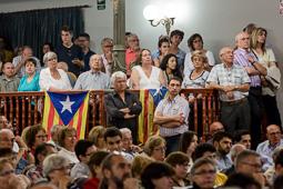 Conferència d'Artur Mas a Molins de Rei