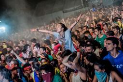 Les millors fotos de la setmana de Nació Digital   L'Acampada Jove de Montblanc arrenca la seva vintena edició desbordant les previsions dels organitzadors.</br> Foto: Josep Martí