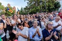 Presentació dels candidats de la societat civil de Junts pel Sí