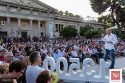 Les millors fotos de la setmana de Nació Digital Junts pel Sí presenta els candidats de la societat civil. </br> Foto: Adrià Costa