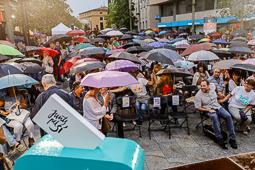 Eleccions 27-S: míting de Junts pel Sí a Terrassa