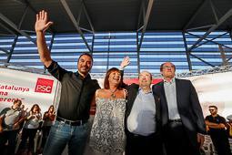 Eleccions 27-S: míting del PSC a Terrassa