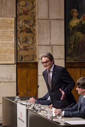 Cerimònia de presa de possessió del president Carles Puigdemont