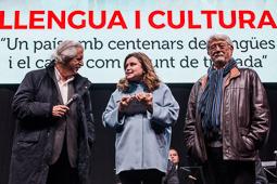 Homenatge d'Òmnium a Muriel Casals