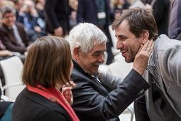 Homenatge del Parlament de Catalunya a Muriel Casals