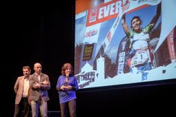Les millors fotos de la setmana de Nació Digital Anna Comet repeteix com a millor esportista vigatana.  Foto: Josep M. Montaner