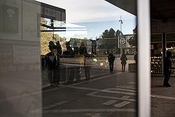 Tercer dia de vaga i manifestació d'estudiants a Barcelona Piquets durant el tercer dia de vaga a la UAB