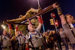 Les millors fotos de la setmana de Nació Digital <a href='http://www.naciodigital.cat/noticia/105566'>Els legionaris espanyols desafien l'Ajuntament i desfilen a l'Hospitalet.</a> </br> Foto: Adrià Costa