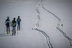Les millors fotos de la setmana de Nació Digital Tercera edició de La Molina-Vallter Skimarathon, la travessa amb esquís del Pirineu Oriental, que uneix la Cerdanya amb les valls de Núria i Camprodon. . Foto: Josep M. Montaner