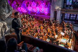 Les millors fotos de la setmana de Nació Digital «Romeu i Julieta», la revisió de la tragèdia amorosa de l'OSV, al Palau de la Música. Foto: Juanma Peláez
