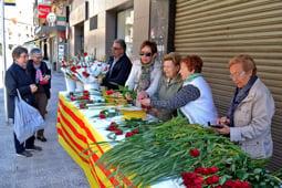 Sant Jordi 2017 Manresa. Foto: Álex Gómez