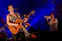 Les millors fotos de la setmana de Nació Digital Concert de Doctor Prats a les Festes del Roser de La Cellera de Ter. Foto: Joan Parera