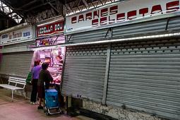Les millors fotos de la setmana de Nació Digital El projecte de la futura reforma del mercat de l'Abaceria Central del barri de Gràcia de Barcelona ha encetat una nova fase per repensar el supermercat i l'aparcament. Foto: Adrià Costa
