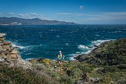 Les millors fotos de la setmana de Nació Digital Marc Carós i Eli Gordón revaliden el triomf d'un Trail Cap de Creus marcat per la tramuntana. Foto: Josep M. Montaner
