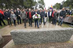 Les millors fotos de la setmana de Nació Digital Homenatge a  les víctimes del nazisme, a l'Aplec de la Salut de Sabadell. Foto: Juanma Peláez