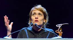Les millors fotos de la setmana de Nació Digital L'espectacle «Psicosi de les 4.48» triomfa a la gala del Premi BBVA de Teatre 2016. Foto: Josep M. Montaner
