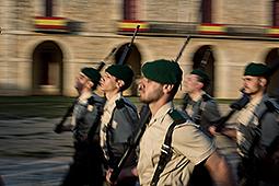 Dia de les Forces Armades a Figueres Celebració del dia de les Forces Armades al castell de Sant Ferran de Figueres