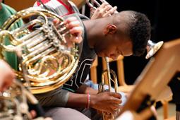 Les millors fotos de la setmana de Nació Digital Concert de la Jove Orquestra Filharmònica de Boston al Centre Cultural de Terrassa. Foto: Cristóbal Castro