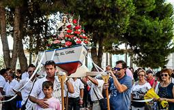 Les millors fotos de la setmana de Nació Digital Processó de la Verge del Carme a La Ràpita. Foto: Silbia Berbís