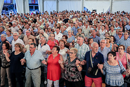 Les millors fotos de la setmana de Nació Digital Concert de l'Orquestra Selvatana a la Festa Major del Roser de Puigcerdà. Foto: Josep M. Costa