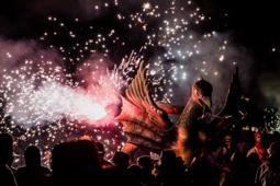 Les millors fotos de la setmana de Nació Digital Tarragona despedeix amb foc les festes dedicades a la patrona de la ciutat.</br> Foto: Júlia Abelló
