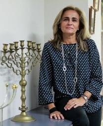 Les millors fotos de la setmana de Nació Digital Sílvia Lleida, presidenta de la comunitat jueva Atid. Foto: Isaac Meler