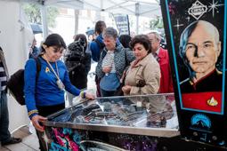 Les millors fotos de la setmana de Nació Digital L'esperit «trekkie» arriba al Festival de Sitges.</br> Foto: Adrià Costa