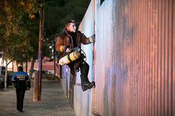 Les millors fotos de la setmana de Nació Digital Un incendi de restes de poda provoca un ensurt a l'IES Jonqueres de Sabadell. Foto: Juanma Peláez