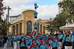 Les millors fotos de la setmana de Nació Digital Els Castellers de Terrassa, que han celebrat la seva XXXVII Diada de la Colla al raval de Montserrat. Foto: Joaquim Albalate