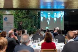 Les millors fotos de la setmana de Nació Digital Marc Puig, Chairman i CEO de Puig, comparteix el model d'empresa familiar a la Nit Empresarial d'Osona. Foto: Josep M. Montaner