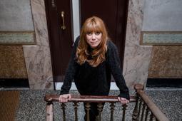 Les millors fotos de la setmana de Nació Digital Després tastar l'èxit amb els dos llibres precedents, la pintora valenciana, Paula Bonet publica «La Sed», una radiografia que és el testimoni d'una manera de pensar, de viure i de crear.  Foto: Adrià Costa